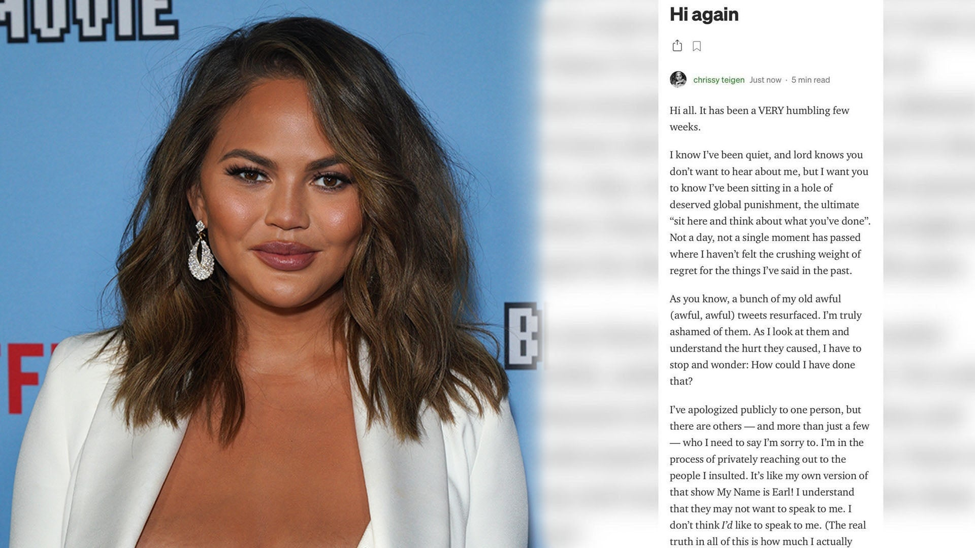 Chrissy Teigen Gets Fully Naked In Hot Photoshoot with